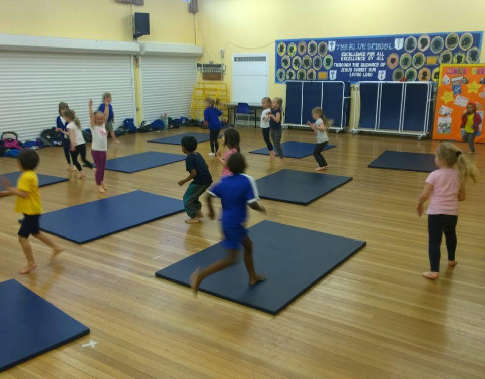 Gymnastics for schools London