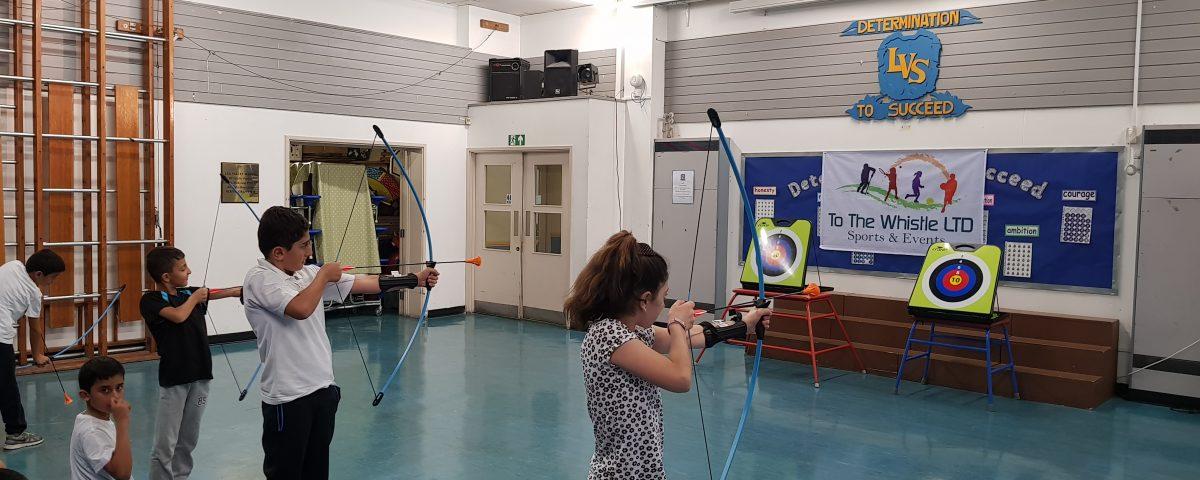 School archery activities London