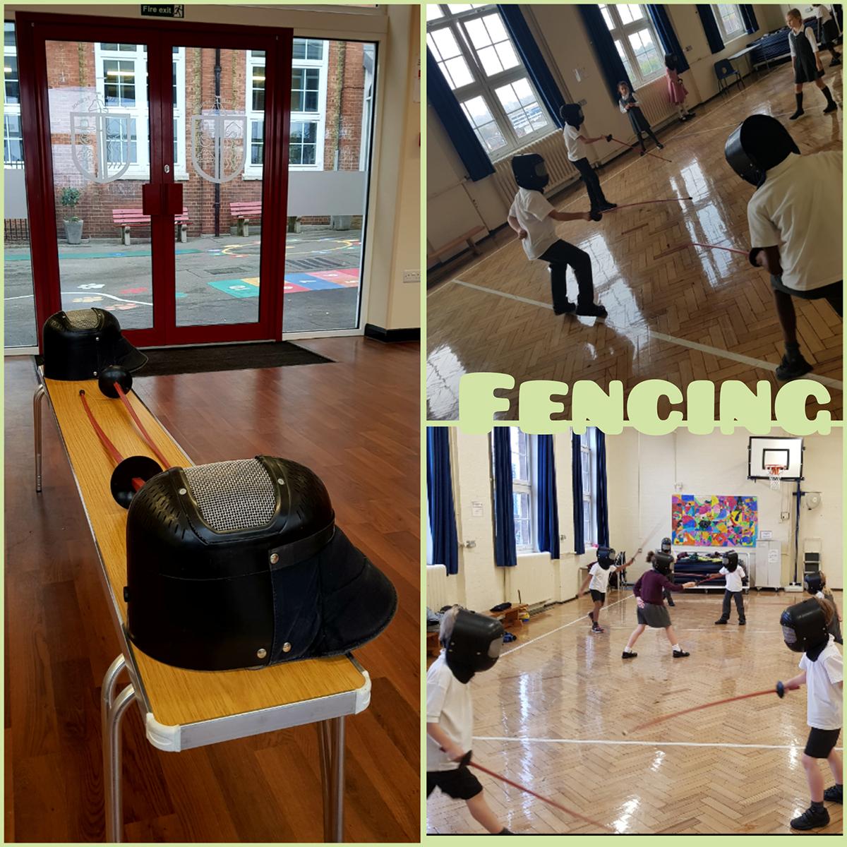 school fencing activities london