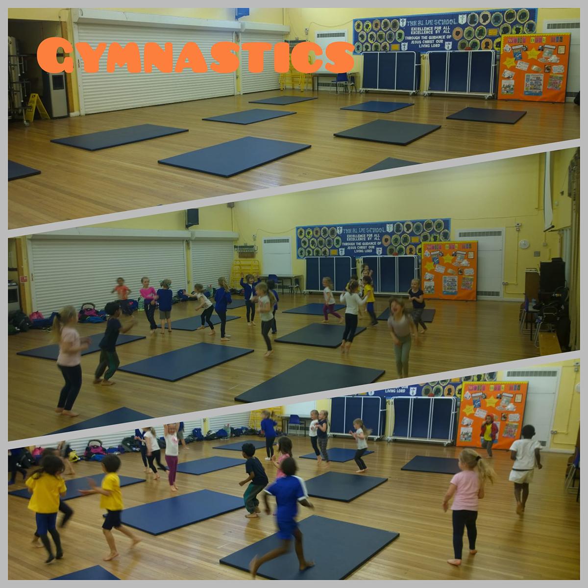 school gymnastics activities london