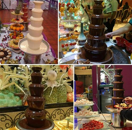 Chocolate fountain hire london