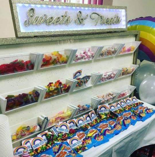 Sweets & Treats Wall